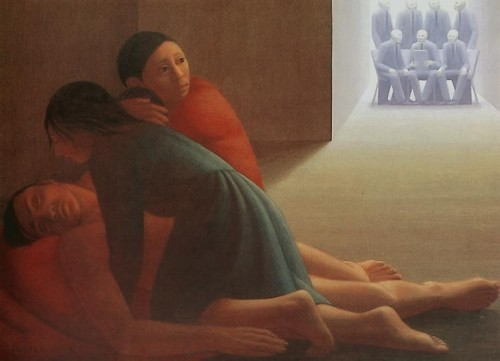 George Tooker The Subway